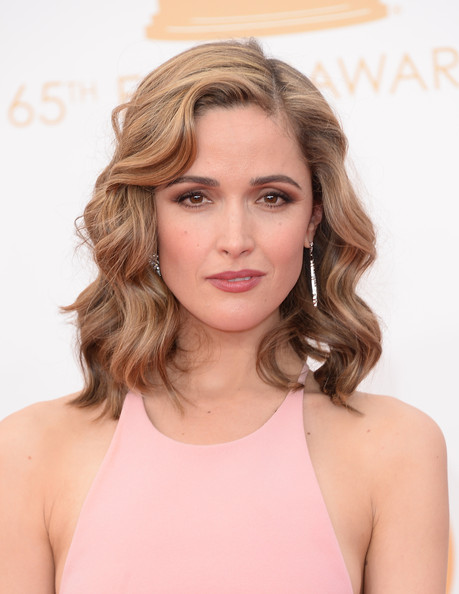 More Pics of Rose Byrne Cutout Dress (1 of 35) - Rose Byrne Lookbook - StyleBistro [hair,blond,face,hairstyle,chin,eyebrow,shoulder,brown hair,long hair,beauty,arrivals,rose byrne,part,california,los angeles,nokia theatre l.a. live,primetime emmy awards]
