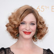 Christina Hendricks' Short Curls