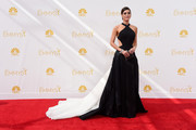 Actress Lizzy Caplan attends the 66th Annual Primetime Emmy Awards held at Nokia Theatre L.A. Live on August 25, 2014 in Los Angeles, California.