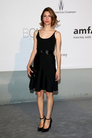 Sticking to her minimalist style, Sofia Coppola donned a spaghetti-strap LBD by Louis Vuitton for the Cinema Against AIDS Gala.