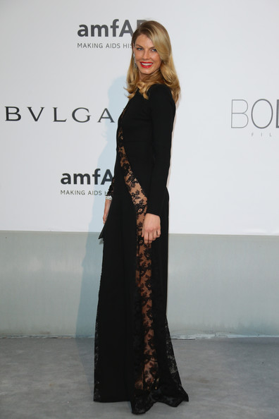More Pics of Angela Lindvall Evening Dress (1 of 5) - Angela Lindvall Lookbook - StyleBistro