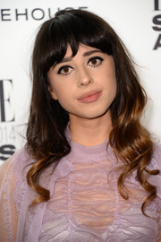 Foxes kept it youthful with blunt bangs and bouncy waves at the Elle Style Awards.