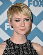 Valorie Curry kept it breezy with this pixie when she attended the Fox All-Star party.
