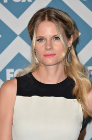 Joelle Carter sported a goddess-worthy half-up 'do at the Fox All-Star party.