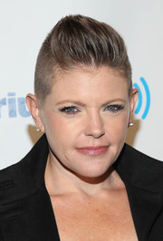 Natalie Maines rocked a tough-chic fauxhawk at Howard Stern's birthday bash.