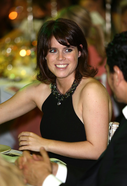 More Pics of Princess Eugenie Medium Straight Cut with Bangs (1 of 6) - Medium Straight Cut with Bangs Lookbook - StyleBistro