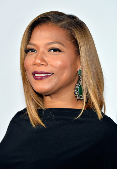 Queen Latifah looked very classy with her sleek mid-length bob at the People's Choice Awards.