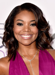 Gabrielle Union looked fab with her high-volume waves at the People's Choice Awards.
