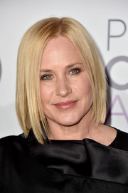 Patricia Arquette attended the People's Choice Awards wearing a very sleek bob.