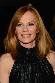 Marg Helgenberger opted for a sleek mid-length bob when she attended the People's Choice Awards.