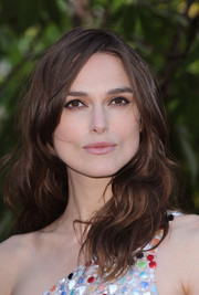 Keira Knightley attended the Serpentine Gallery Summer Party looking chic with her mussed-up waves.