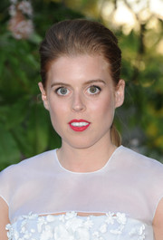 Princess Beatrice sported a casual-elegant teased ponytail at the Serpentine Gallery Summer Party.