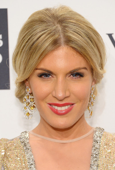 Hofit Golan was all about romantic elegance with this chignon at the amfAR New York Gala.