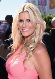 Beccy Gordon looked summer-ready with her long, piecey waves during the ESPYs.