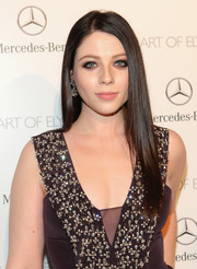 Michelle Trachtenberg complemented her bejeweled dress with a simple straight 'do at the Art of Elysium's Heaven Gala.