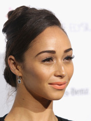 Cara Santana bravely wore a beehive at the Art of Elysium's Heaven Gala.