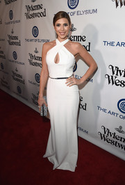 Jamie-Lynn Sigler was white-hot at the Heaven Gala in a halter gown with a cleavage-baring cutout.