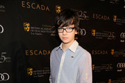 Asa Butterfield Button Down Shirt