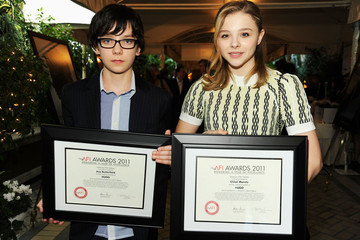 Asa Butterfield Chloe Grace Moretz 12th Annual AFI Awards - Presentation