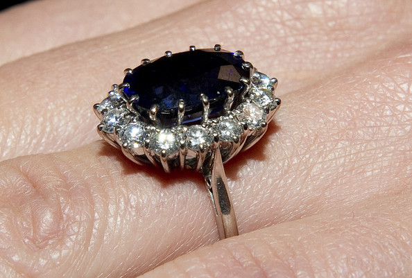 More Pics of Kate Middleton Diamond Ring (1 of 4) - Kate Middleton Lookbook - StyleBistro