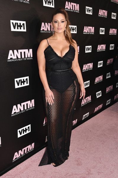 Ashley Graham Sheer Dress