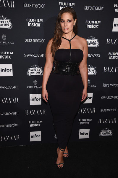 Ashley Graham Strapless Dress