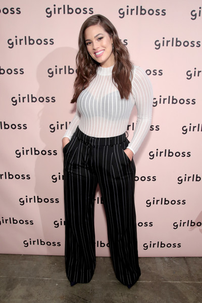 Ashley Graham Print Pants