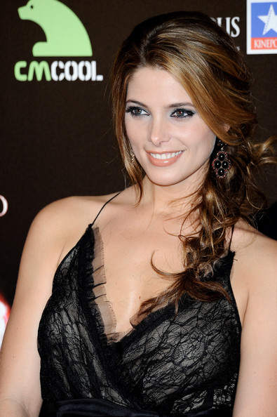 Ashley Greene Dangling Gemstone Earrings