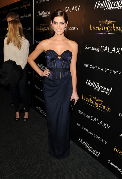 Ashley Greene Corset Dress