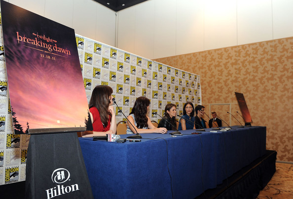 "Summit Entertainment Presents ""The Twilight Saga: Breaking Dawn - Part 1""  Supporting Cast Comic-Con Press Conference"