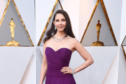 Ashley Judd Strapless Dress