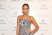 Ashley Madekwe Strapless Dress