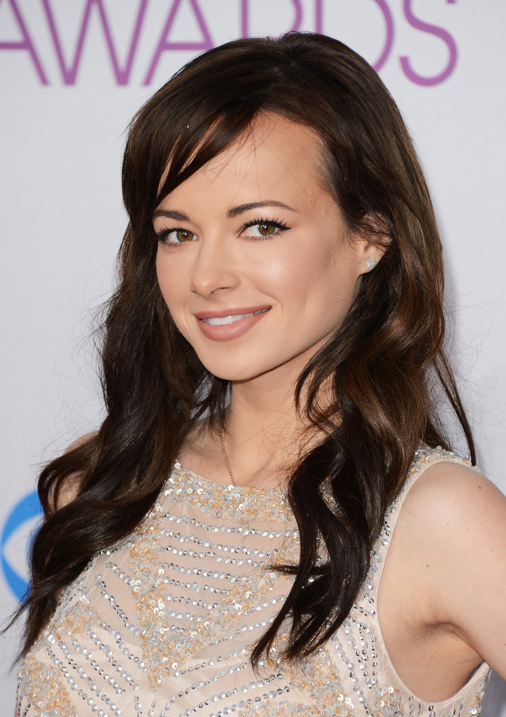 Ashley Rickards Long Curls With Bangs Long Curls With