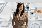 Ashley Rickards Wrap Dress