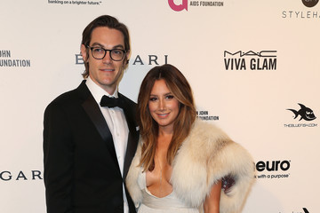 Ashley Tisdale Christopher French Celebrities Attend an Oscar Viewing Party