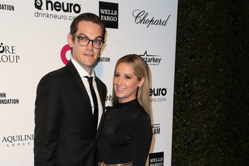 Ashley Tisdale Christopher French Arrivals at the Elton John AIDS Foundation Oscars Viewing Party — Part 4