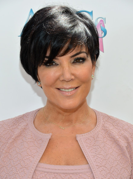 More Pics of Kris Jenner Short cut with bangs (1 of 24) - Short Hairstyles Lookbook - StyleBistro