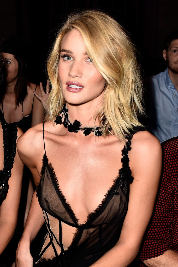 More Pics of Rosie Huntington-Whiteley Cutout Dress (5 of ...