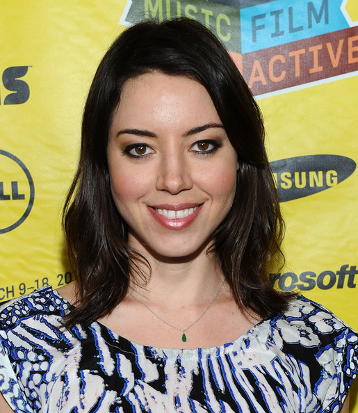 Aubrey Plaza Medium Layered Cut