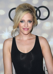 Carly Chaikin styled her hair in a messy-glam bouffant for the Emmy kickoff party.