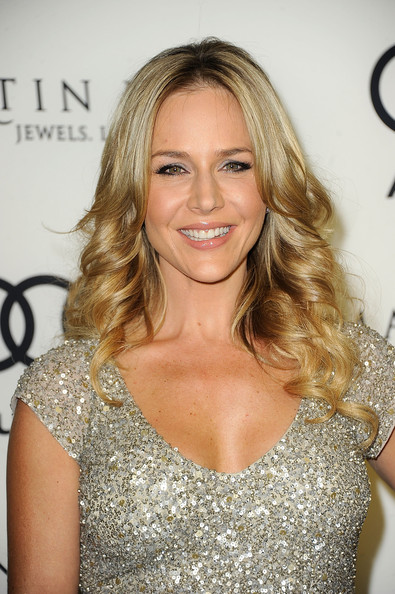 More Pics of Julie Benz Long Center Part (1 of 6) - Julie Benz Lookbook - StyleBistro