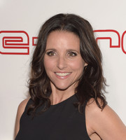 Julia Louis-Dreyfus sported pretty, shoulder-length waves during Audi's celebration of Emmys week.