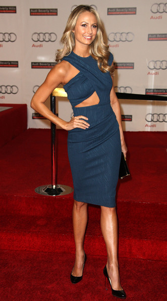Stacy+Keibler in Audi Celebrates The Grand Opening Of Audi Beverly Hills