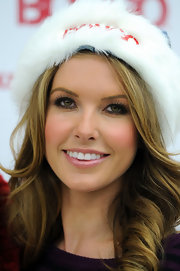 Audrina was all smiles as she made a special holiday appearance at a Kmart store.