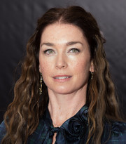 Julianne Nicholson wore her tight waves in a hippie-chic half-up style at the 'August: Osage County' NYC premiere.