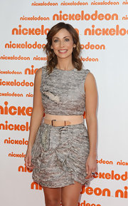 Natalie Imbruglia sweetened up her deconstructed dress with a pink leather belt at the Australian Nickelodeon Kids' Choice Awards.