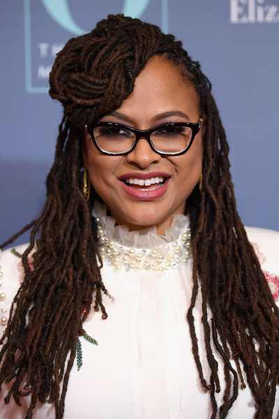 Ava DuVernay Dreadlocks [o the oprah magazine hosts special nyc screening of ``a wrinkle in time,a wrinkle in time,hair,dreadlocks,hairstyle,eyewear,glasses,ringlet,long hair,beauty,black hair,brown hair,ava duvernay,nyc,walter reade theater,screening]