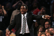 Avery Johnson Striped Tie