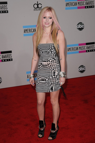 Avril Lavigne Body Art