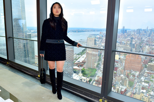 Awkwafina Knee High Boots